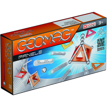 Containing 22 pieces, this starter kit is the ideal introduction to the world of Geomag.
