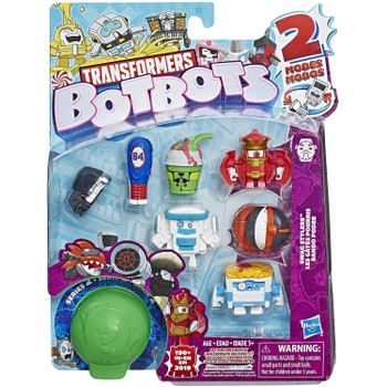 Transformers BotBots Series 2: SWAG STYLERS 8-Pack 2-in-1 Collectible Figures in packaging.