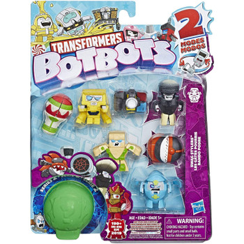 Transformers BotBots Series 2:  SWAG STYLERS 8-Pack 2-in-1 Collectible Figures