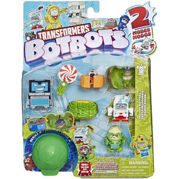 Transformers BotBots Series 2: SPOILED ROTTENS 8-Pack 2-in-1 Collectible Figures in packaging.