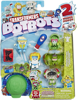 Transformers BotBots Series 2: SPOILED ROTTENS 8-Pack 2-in-1 Collectible Figures