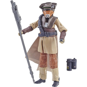 3.75-inch-scale replica of Princess Leia Organa (in Boushh Disguise) from Star Wars: Return of the Jedi.