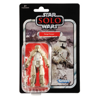 Star Wars The Vintage Collection VC128 RANGE TROOPER 3.75-inch Figure in European packaging from the front.