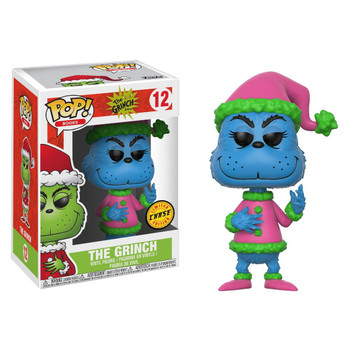 Inspired by the classic Dr. Seuss story How The Grinch Stole Christmas, The Grinch in Santa Outfit joins the Funko POP! Books range.