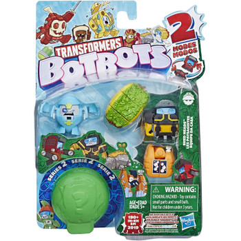 Transformers BotBots Series 2: SHED HEADS  5-Pack 2-in-1 Collectible Figures
