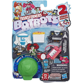 Transformers BotBots Series 2: MUSIC MOB 5-Pack 2-in-1 Collectible Figures