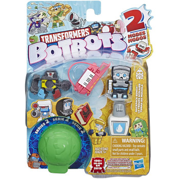 Transformers BotBots Series 2: BACKPACK BUNCH  5-Pack 2-in-1 Collectible Figures