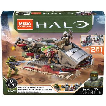 Mega Construx Halo Infinite SKIFF INTERCEPT Construction Set in packaging.