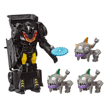 In the Sharkticons Attack Environment Pack, Stealth Force Hot Rod faces off against the evil Sharkticons as they attempt to take over the planet Cybertron.