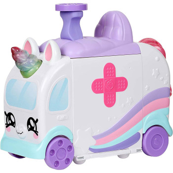 The Kindi Fun Unicorn Ambulance is on the way to save the day!