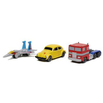Each Nano scale die-cast collectible vehicle features a die-cast body and is a must have in any pop culture collection!