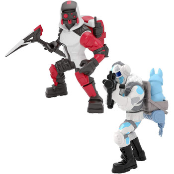 Fortnite Battle Royale Collection Duo Pack: Frostbite & Double Helix Figures