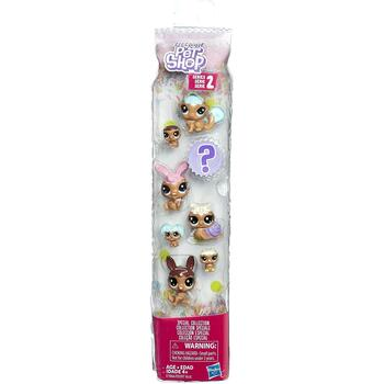Littlest Pet Shop Frosting Frenzy Friends (Chocolate) in packaging.