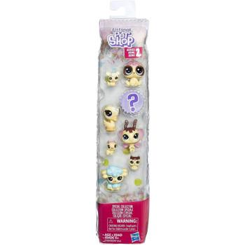 Littlest Pet Shop Frosting Frenzy Friends (Vanilla) in packaging.