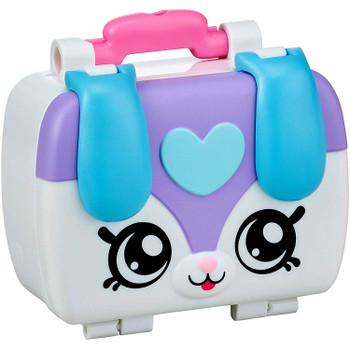 Hi I'm the Kindi Kids Fun Puppy Petkin Lunchbox. Pack me up with fun filled Shopkins so that I'm ready to go play at the Rainbow Kindi with the Kindi Kids.