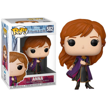 Celebrate your love of Disney's Frozen 2 with Anna as a stylized Pop! Vinyl from Funko!