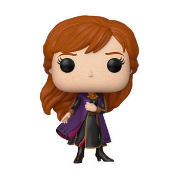 Dressed in Anna's siganture outfit from the movie, this adorable stylized collectible figure stands 3.75 inches (10 cm) tall.