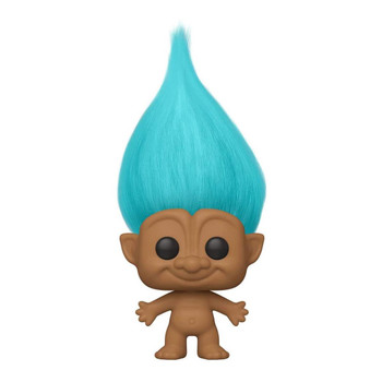 This adorable stylized collectible figure stands 3.75 inches (9 cm) tall and features real hair. Perfect for any Trolls fan!