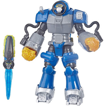 POWER RANGERS BEAST MORPHERS SMASH BEASTBOT FIGURE – Imagine the Smash Beastbot crashing into action with the Blue Ranger to protect the Morph-X with this 6-inch figure, inspired by the Power Rangers Beast Morphers TV show.