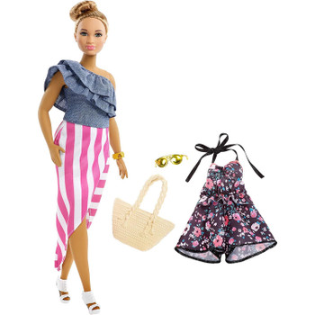 Mix and match to explore style and storytelling with Barbie® doll -- she comes with an additional outfit and accessories for versatility and fun!
