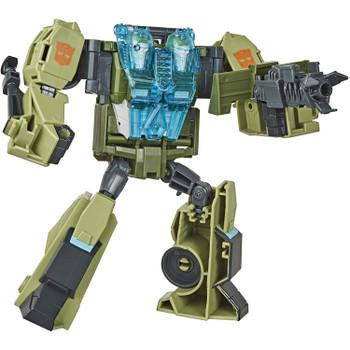 6-inch Rack'N'Ruin Figure: Ultra Class Rack'N'Ruin figure stands a little over 6-inches (15 cm) tall.