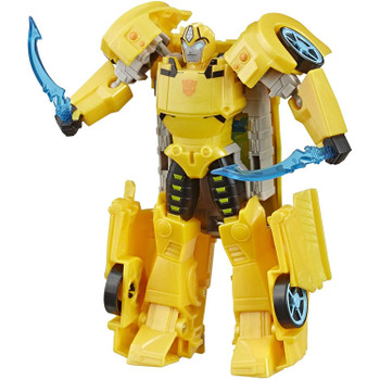 6-inch Bumblebee Figure: Ultra Class Bumblebee figure stands around 6-inches (15 cm) tall.