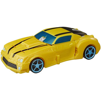 2-in-1 Converting Toy: Easy Transformers conversion for children aged 6 and up. Convert Bumblebee toy from race car to robot mode in 8 steps.