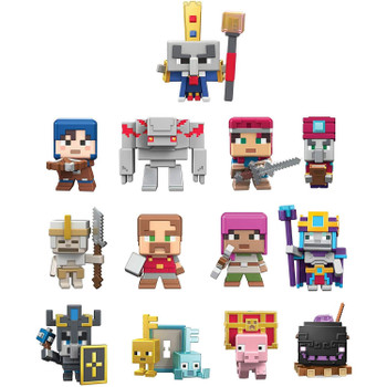 """Buried"" inside each 1-pack is a unique Minecraft Mini-Figure just waiting to be discovered -- you never know which figure you'll find next until you open the box!"