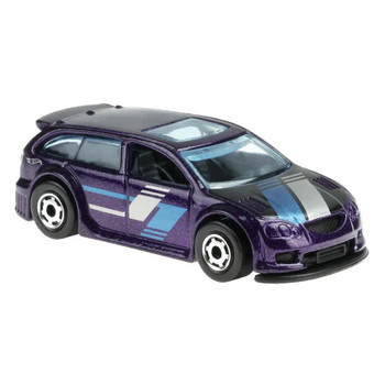 This 1:64 scale Hot Wheels Flying Customs Audacious vehicle features realistic details and cool, retro-style packaging.