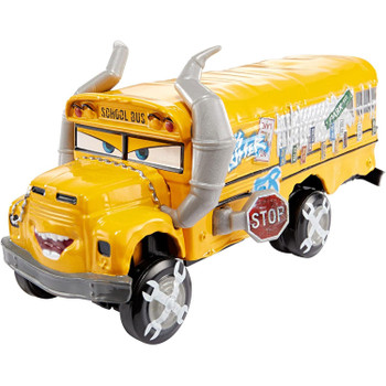 Miss Fritter oversized vehicle has authentic styling, big personality details and wheels that roll.