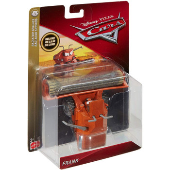 Disney Pixar Cars FRANK (with Weathering) 1:55 Scale Deluxe Die-cast Vehicle in packaging.