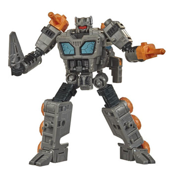 Transformers War for Cybertron: Earthrise Deluxe Class Decepticon FASTTRACK Action Figure.