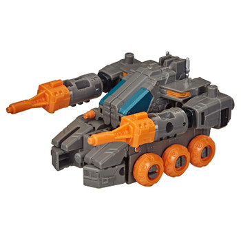 Decepticon Fasttrack toy disassembles in 7 steps and reassembles into tank mode in 10 steps.