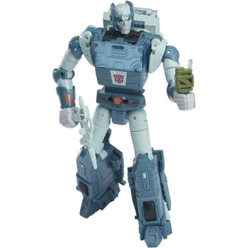 5.5-inch (14 cm) Kup figure features vivid, movie-inspired deco, is highly articulated for posability and comes with blaster and Energon canteen accessories.