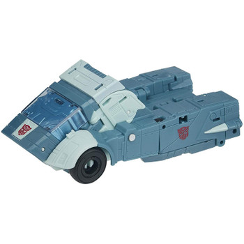 Figure features classic conversion between robot and Cybertronian truck modes in 21 steps. Perfect for fans looking for a more advanced converting figure.