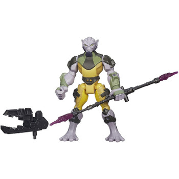 This 6-inch Garazeb Orrelios figure features common connection points, allowing you to detach the head, arms, and legs, then reconnect them where you want.