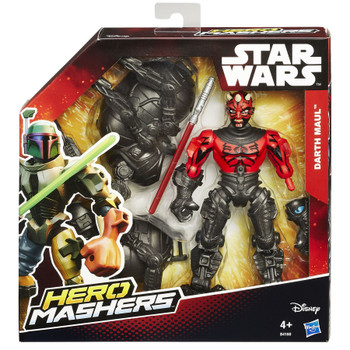 Star Wars Hero Mashers 15cm DARTH MAUL Deluxe Action Figure in packaging.