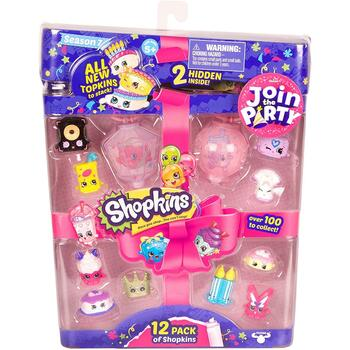 Shopkins Season 7 Join the Party 12-Pack in packaging.