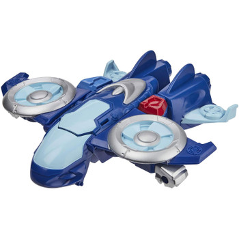 As a mighty VTOL jet, Whirl the Flight-Bot is ready to take to the skies and charge to the rescue!