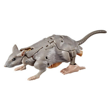 This Core Class Rattrap toy converts to Beast Wars-inspired rat mode in 18 steps.