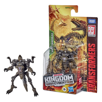 Unleash the primal power of the beasts with this Predacon raptor fossil character, called Vertebreak! Figure features the skeletal form of a raptor.