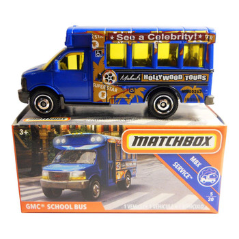 The Matchbox GMC School Bus is #5/20 in the MBX Service™ collection.