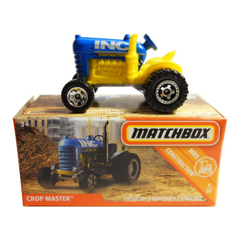 The Matchbox Crop Master is #5/20 in the MBX Construction™ collection.