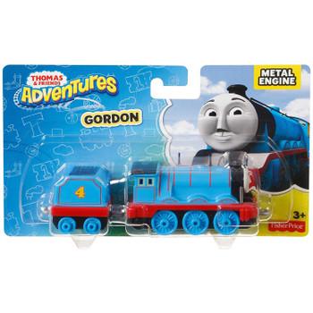 Fisher-Price Thomas & Friends Adventures GORDON Die-cast Metal Engine in packaging.