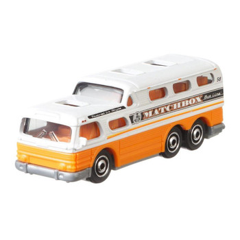 The Matchbox '55 GMC SCENIC CRUISER 1:64 Scale Die-cast Vehicle is #2/20 in the MBX Service™ collection.