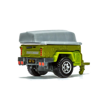 The Matchbox Trailer Trawler can be towed by other 1:64 scale Matchbox vehicles that have a tow hook.