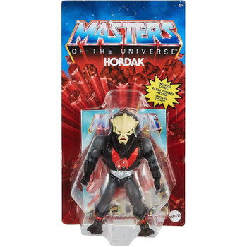 Masters of the Universe Origins HORDAK 5.5-inch Action Figure in packaging.