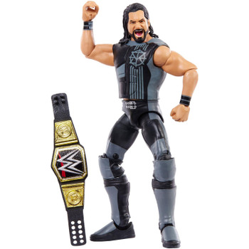This highly detailed Seth Rollins action figure features multiple points of articulation and comes with WWE Championship & Vest!