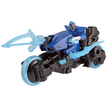 Power Rangers Super Samurai Sword Cycle with Blue (Water) Mega Ranger
