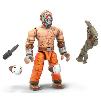 Borderlands Psycho figure features premium printed detail, 12 points of articulation and a buildable figure stand with nameplate to create a dynamic display.